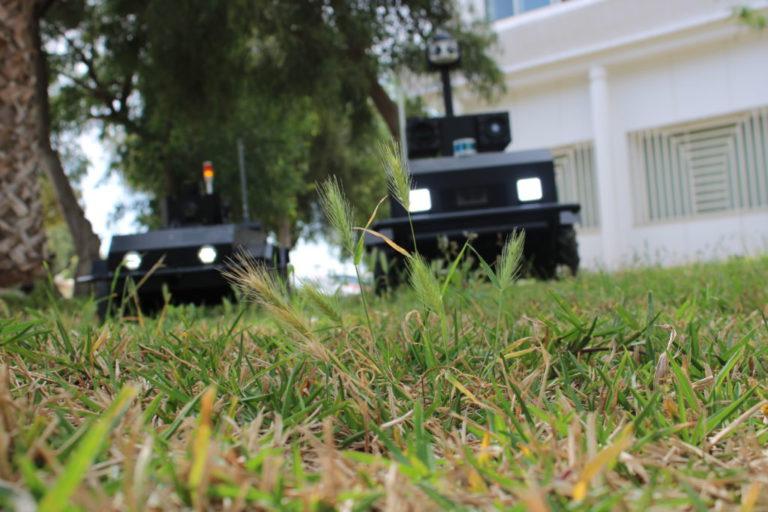 Pguard The autonomous security robot